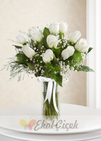 Beyaz Güller 11' li