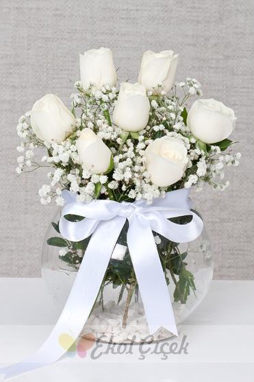 Beyaz Güller 7 li